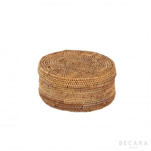Caja redonda pequeña - BECARA