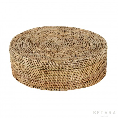 Caja redonda grande - BECARA