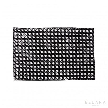 Mantel individual negro