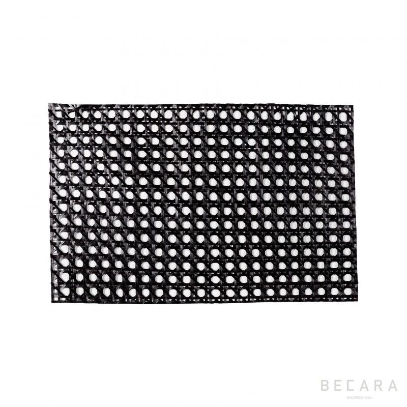 Mantel individual negro - BECARA