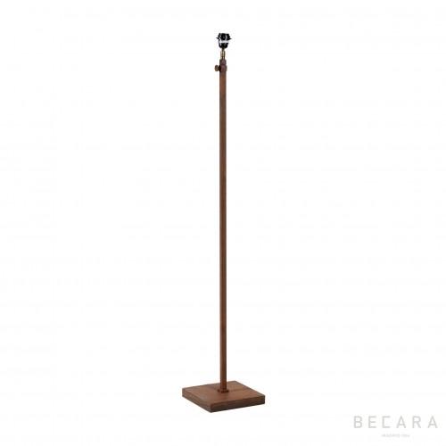 Rusted floor lamp