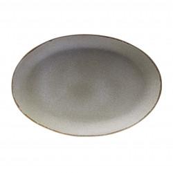 White Shark oval big plate