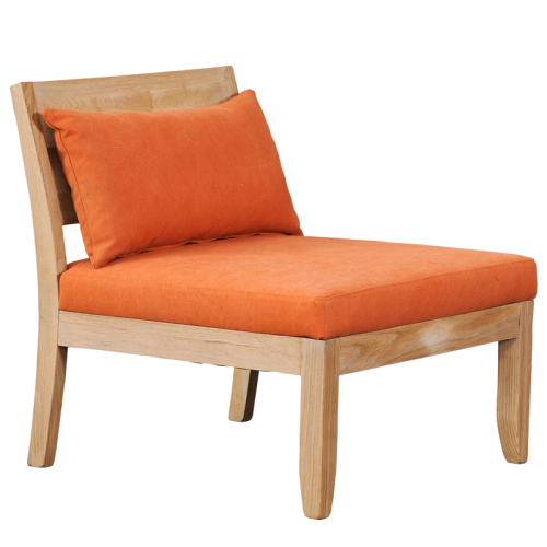 Orange Alice armchair