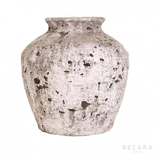 Big stone vase