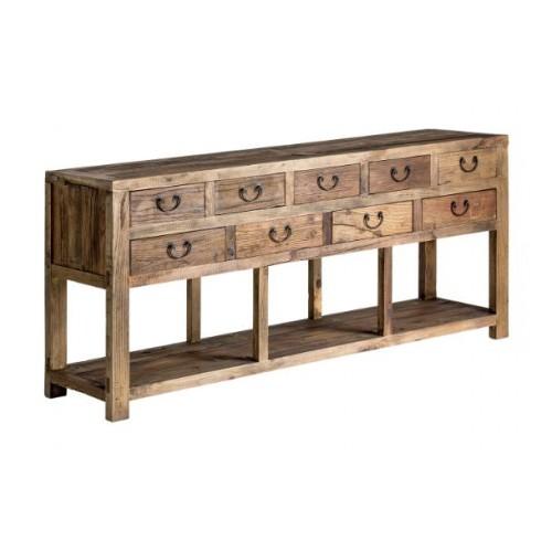 Consola de madera Amber