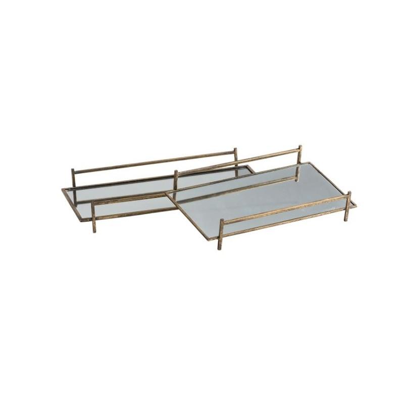 Set of 2 Panaji trays