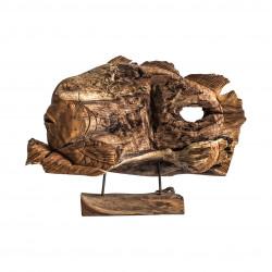 Figura pez de madera  - BECARA