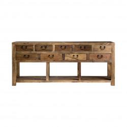 Consola de madera Amber - BECARA