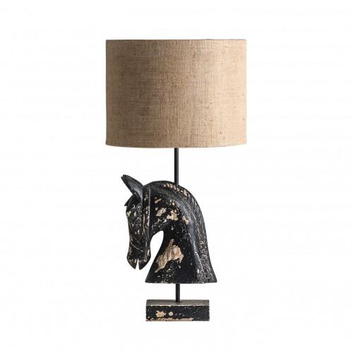 Lámpara de mesa caballo - BECARA