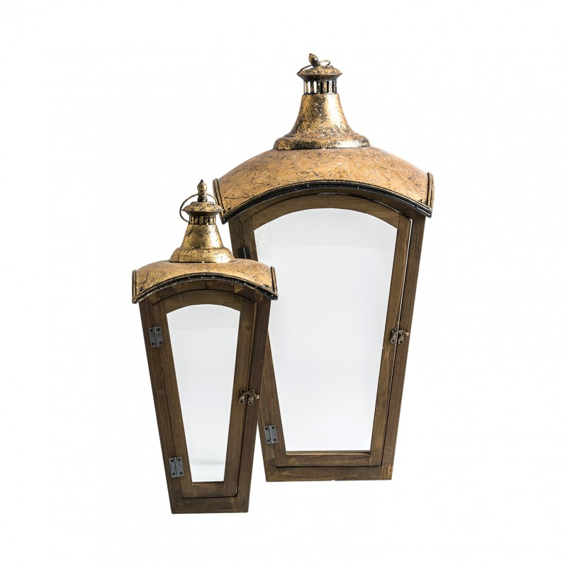 Set of 2 Cupertino lanterns