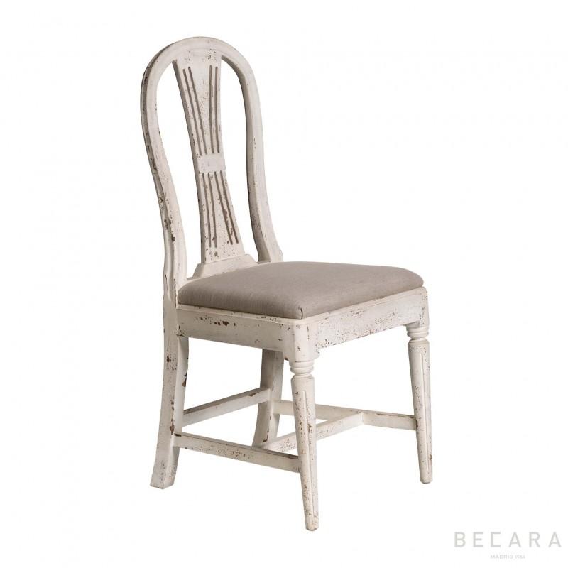 Silla Sophie blanca - BECARA