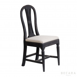 Silla Sophie negra - BECARA