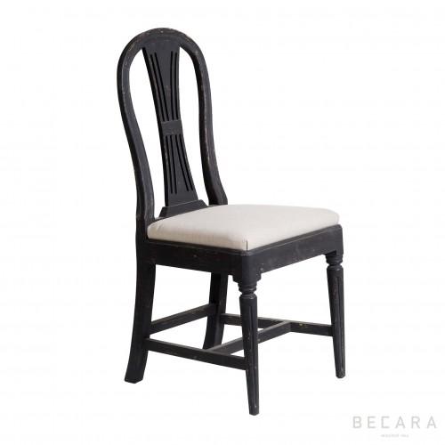 Sophie black chair