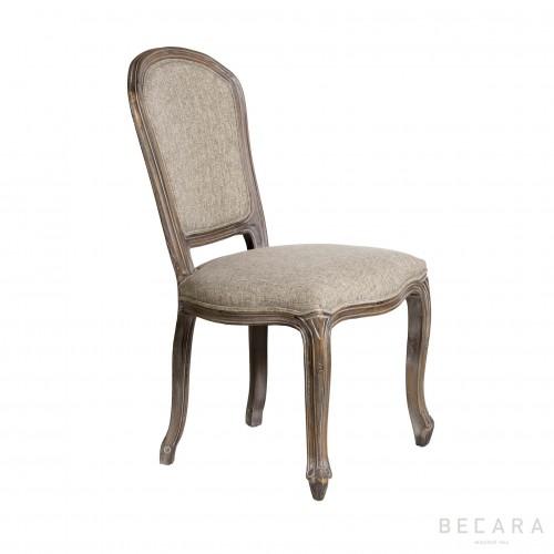 Peineta gray chair