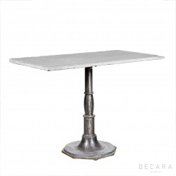 Side table with octogonal leg