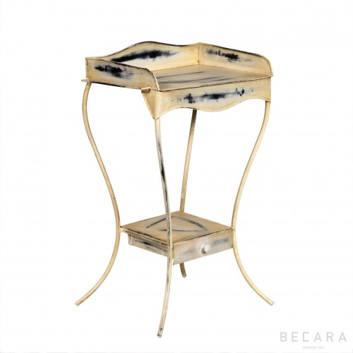 French white side table