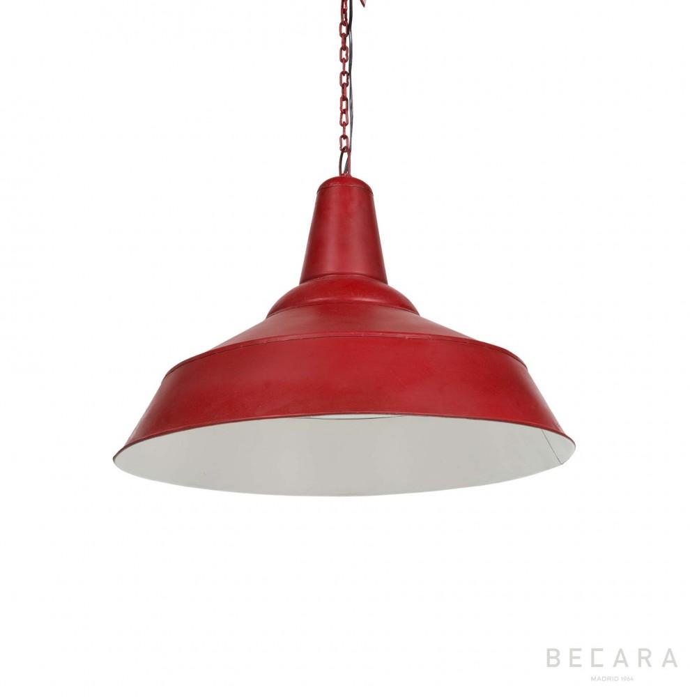 Lámparas BECARA Lámpara techo en de roja ZiXOPTku