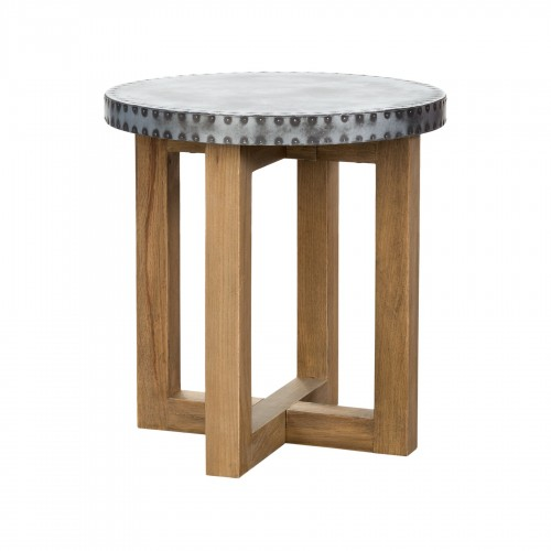 Natural Weather side table