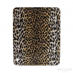 Bandeja de leopardo grande - BECARA