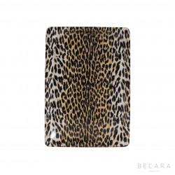 Small leopard print tray