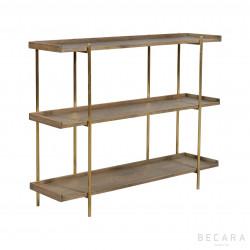 Sulivan small oak shelves