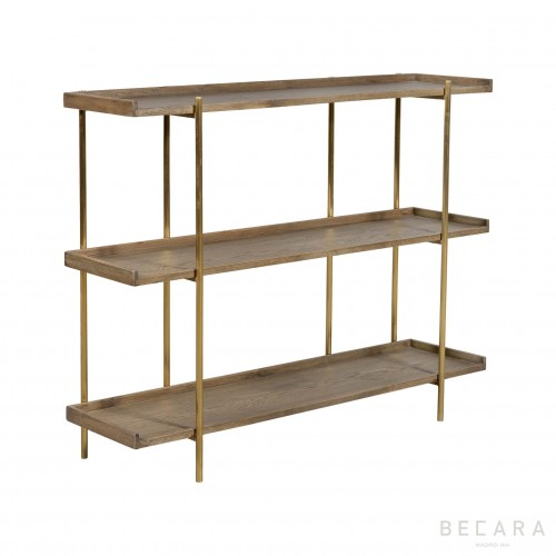 Sulivan small oak shelves
