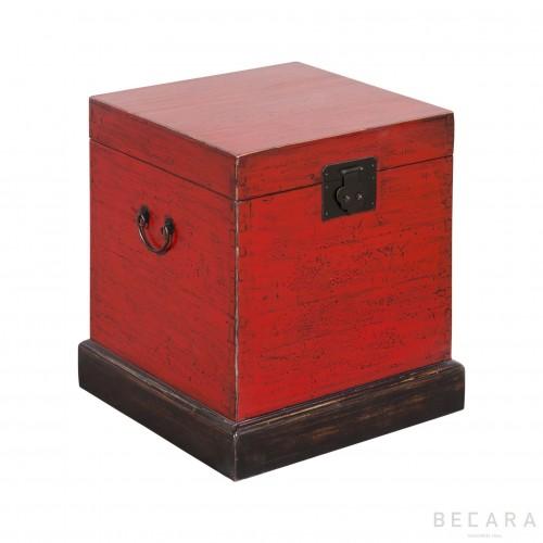Baúl rojo - BECARA