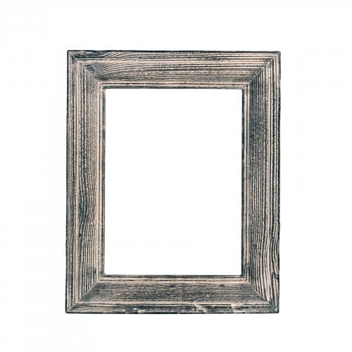 Marco de madera gris