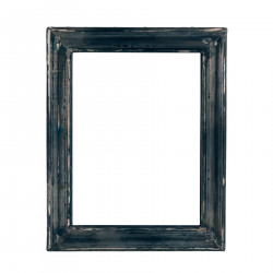 Black wooden small frame