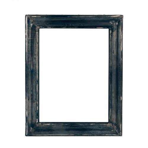 Marco de madera negra pequeño