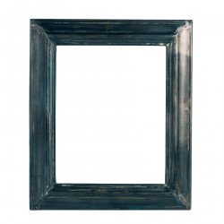 Bluish metallic big frame