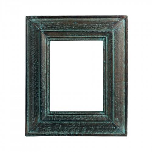 Marco de madera verde lavado - BECARA