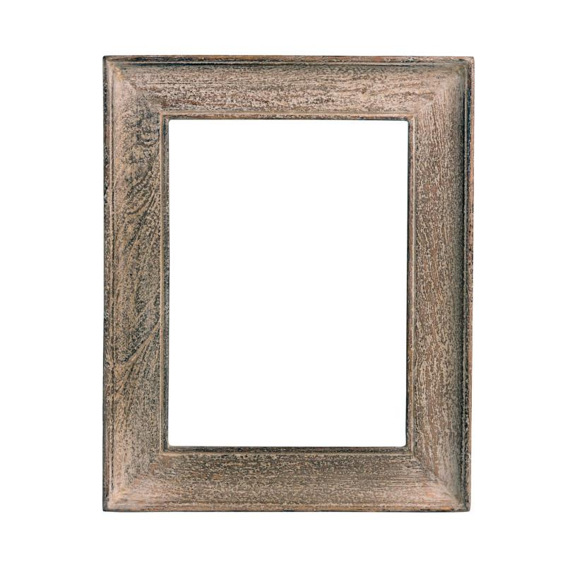 Big White Washed Wood Frame Becara Tienda Online