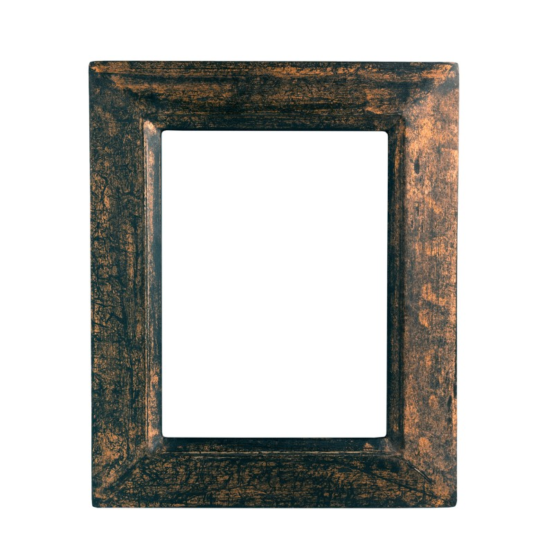 Black cooper wooden frame