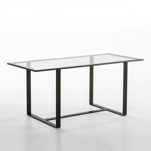 Norlina glass dining table