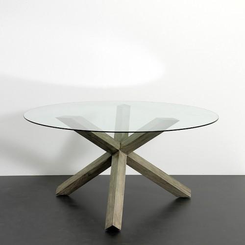 Mesa de comedor Falcon gris - BECARA