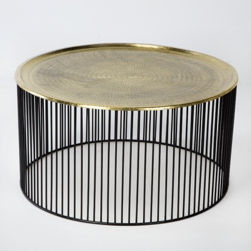 Lasker golden coffee table