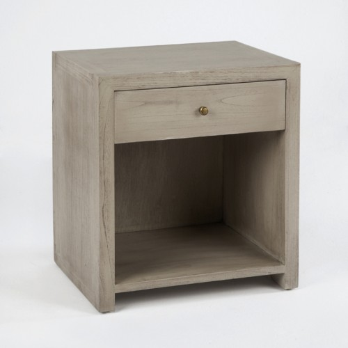 Staley gray bedside table