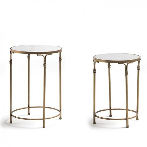 Set of 2 Paxville side tables