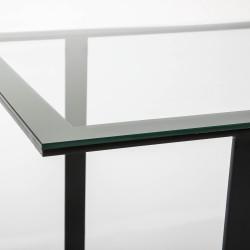 Mesa de comedor Norlina cristal - BECARA