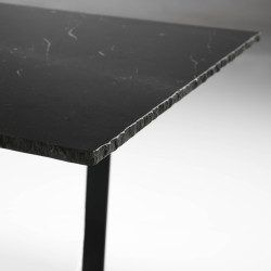 Norlina black dining table