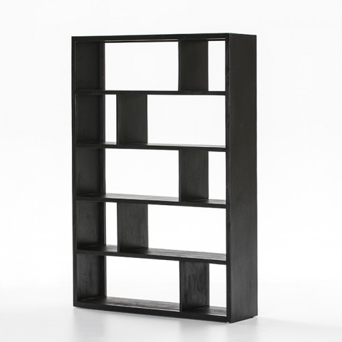 Nichols black shelves