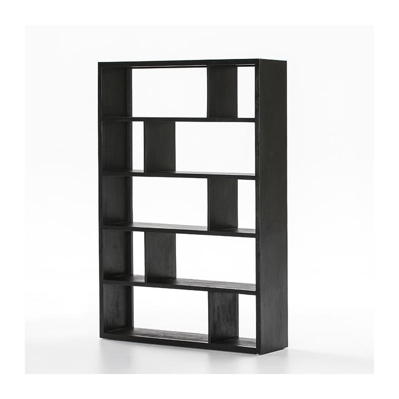 Nichols black shelves
