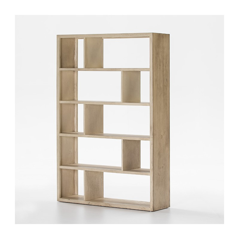 Nichols white shelves