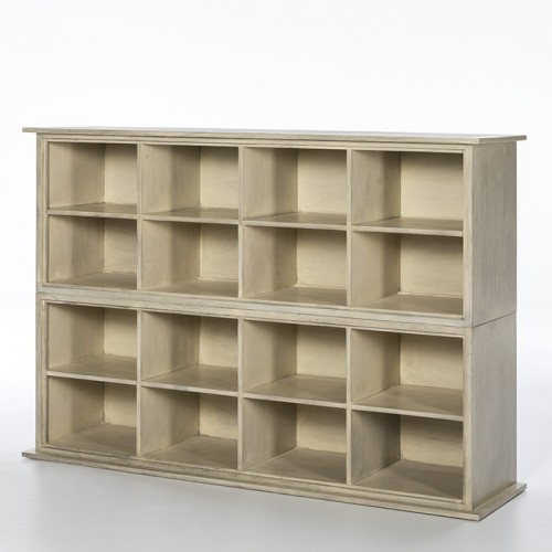 Sharon gray shelves