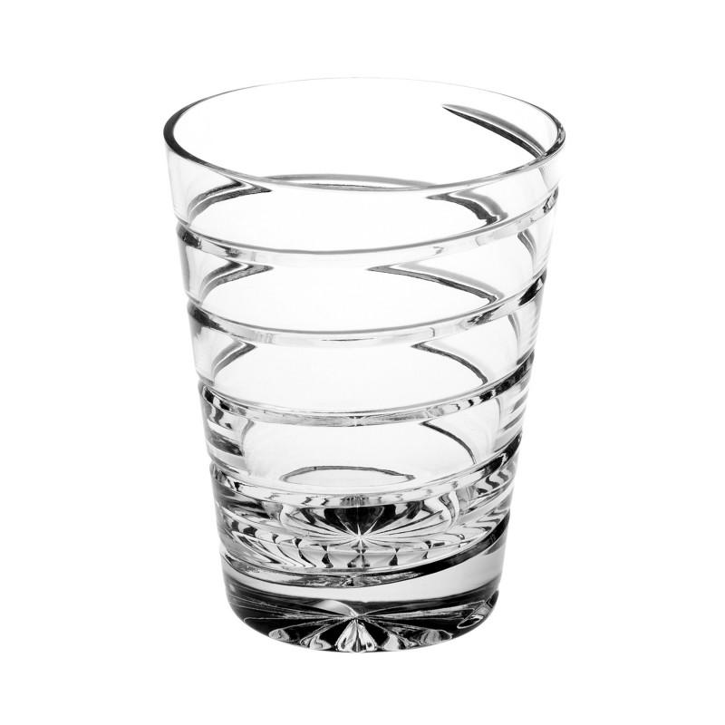 SHORT WHISKY SPIRAL GLASS