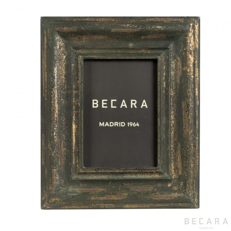 Marco de madera gris - BECARA