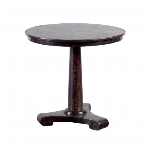 Caviar finish dining table