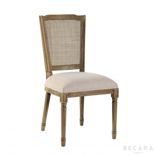 Claire chair with square back