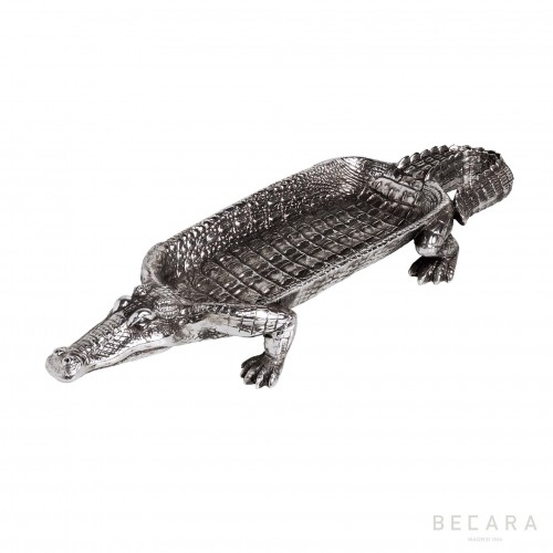 Silvered Alligator